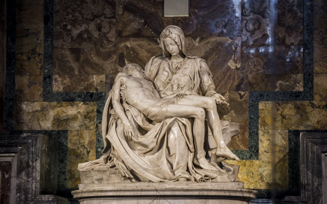 THE VATICAN PIETÀ BY MICHELANGELO BUONARROTI