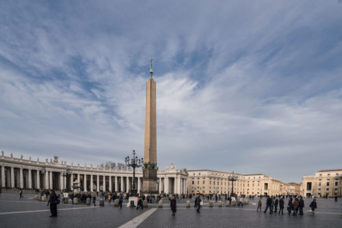 Obelisk-Saint-Peter's-Square