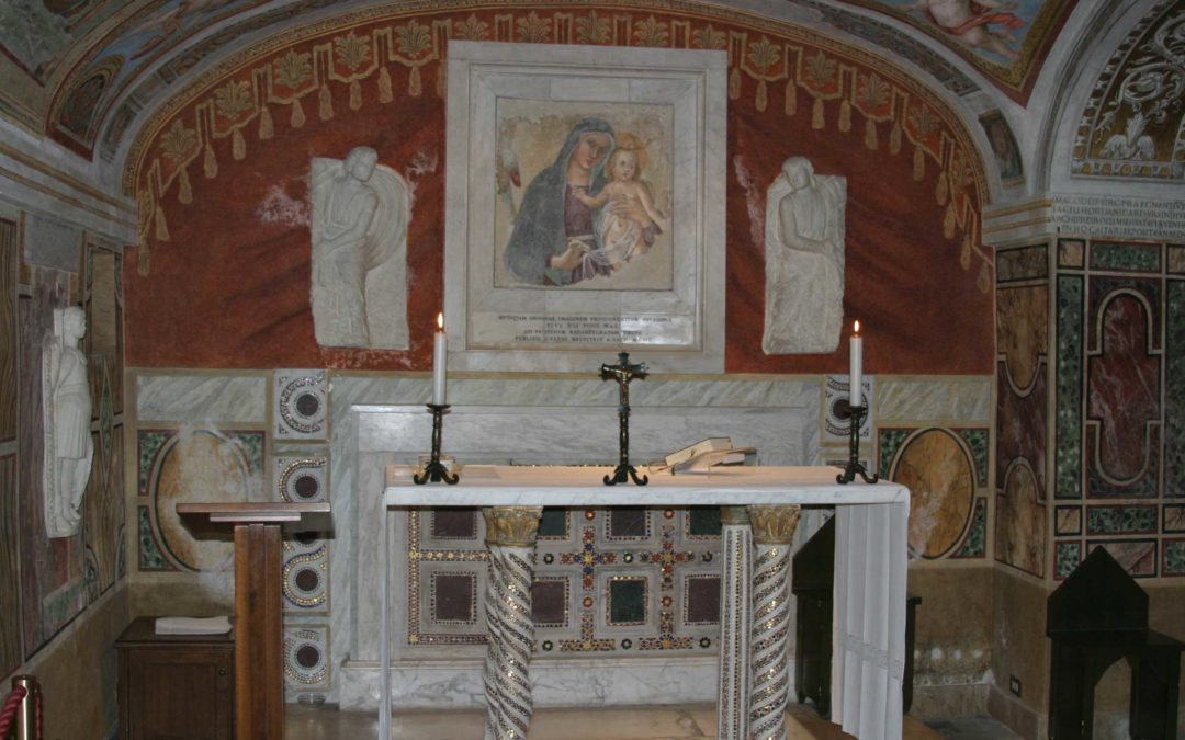 CHAPEL OF THE MADONNA OF PARTORIENTI (Vatican Grottoes)