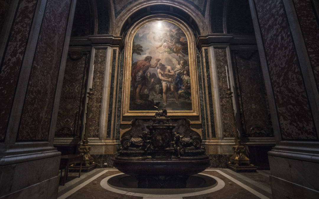 WORKS OF ART IN SAINT PETER'S BASILICA