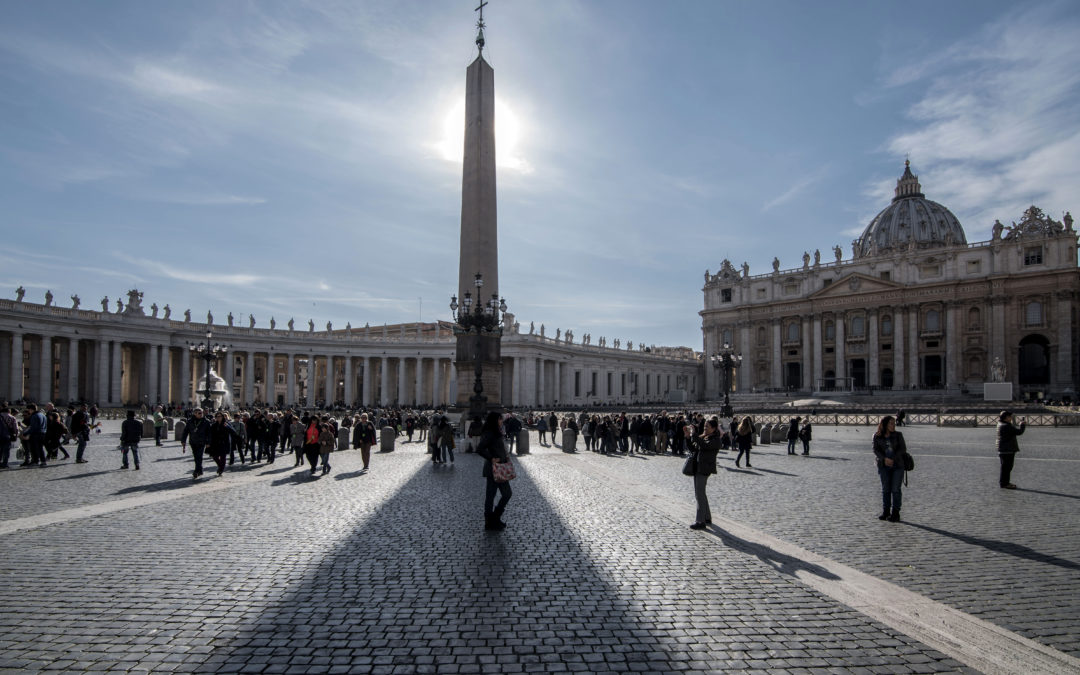 The secrets of the vatican Obelisk in St. Peter's square