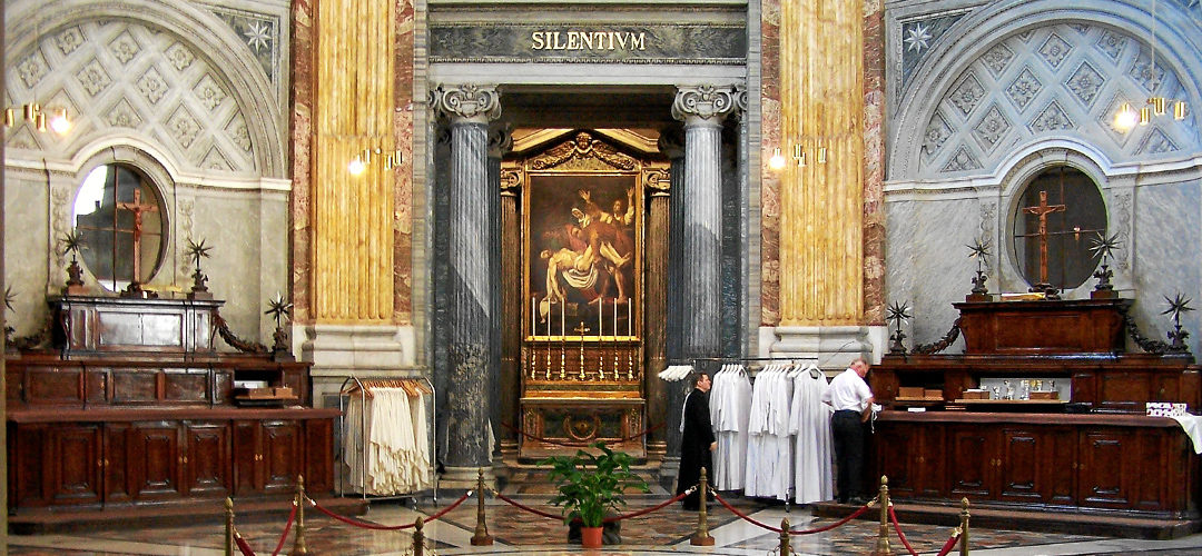 THE SACRISTY OF SAINT PETER'S