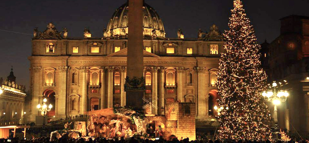 CHRISTMAS 2019 IN SAINT PETER'S SQUARE
